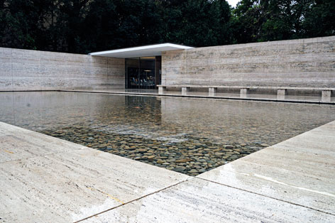 Japan Photo Barcelona Pavilion Ludwig Mies Van Der Rohe