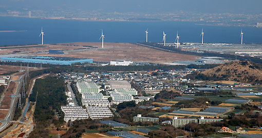Toyohashi Japan  City pictures : Japan Photo | wind energy / wind power furyoku 風力 technology