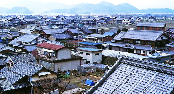 japan photo archiv wohnen in der kleinstadt japanische. Black Bedroom Furniture Sets. Home Design Ideas